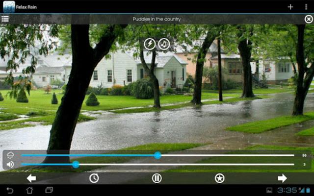 Relax Rain - Rain sounds: sleep and meditation screenshot 18