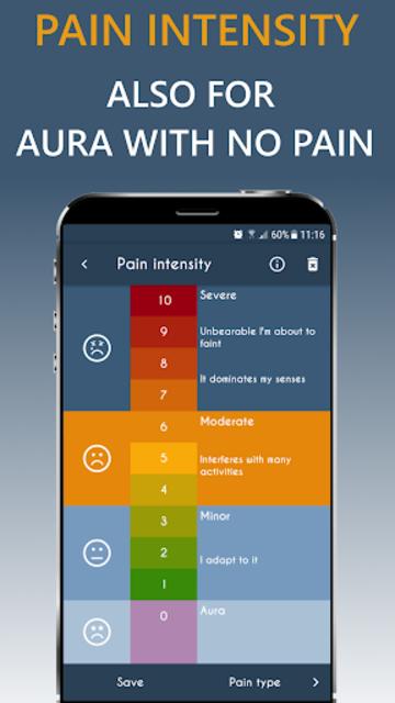 Migraine Headache Diary HeadApp screenshot 4