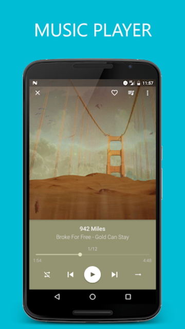 Pixel+ - Music Player screenshot 1