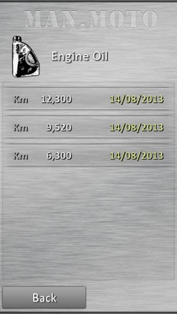 Motorcycle maintenance screenshot 2