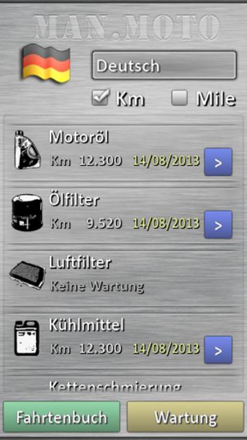 Motorcycle maintenance screenshot 7