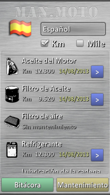 Motorcycle maintenance screenshot 13