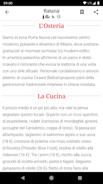 Osterie d'Italia 2019 screenshot 5