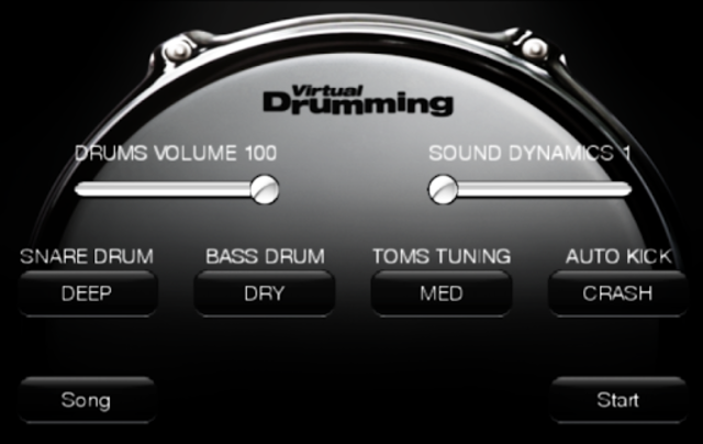 VirtualDrumming screenshot 8