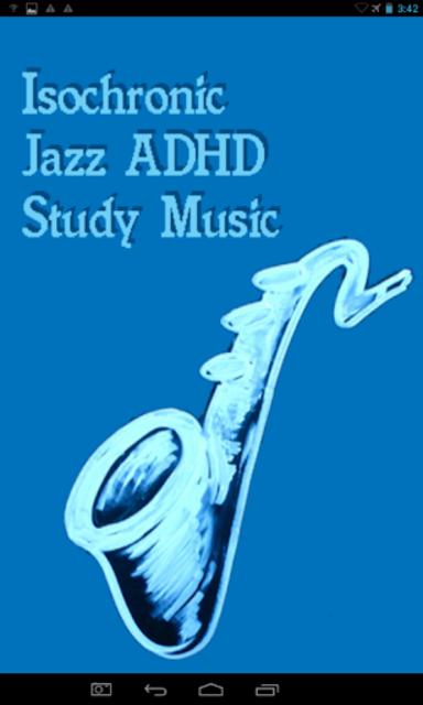 Jazz ADHD Study Music screenshot 1