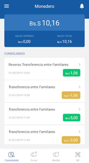 veMonedero screenshot 3