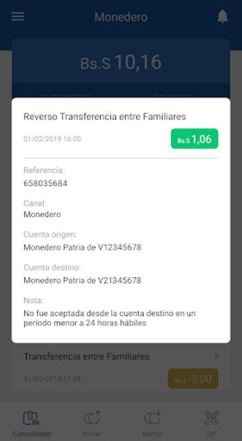 veMonedero screenshot 4