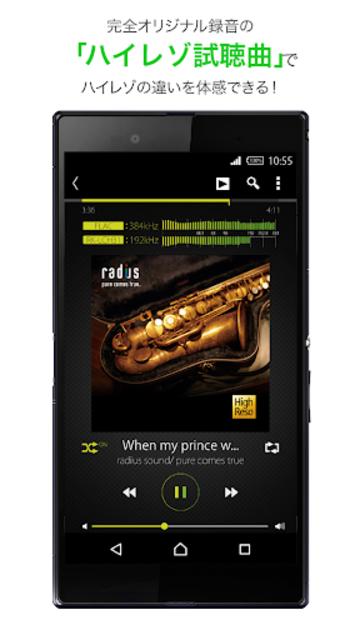 ハイレゾ再生に最適な音楽プレイヤーアプリ[NePLAYER] screenshot 3