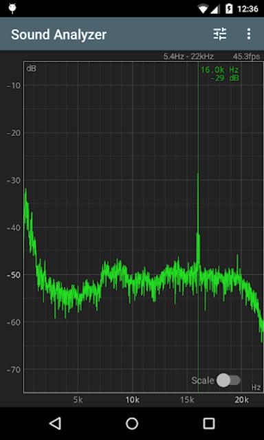 Sound Analyzer screenshot 3