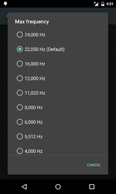 Sound Analyzer screenshot 5