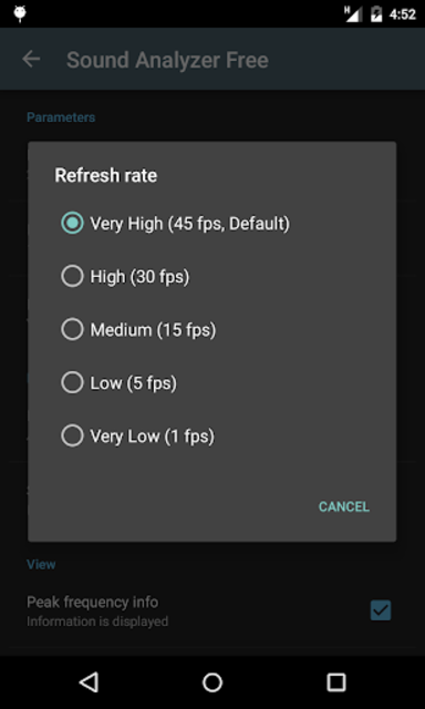 Sound Analyzer screenshot 7