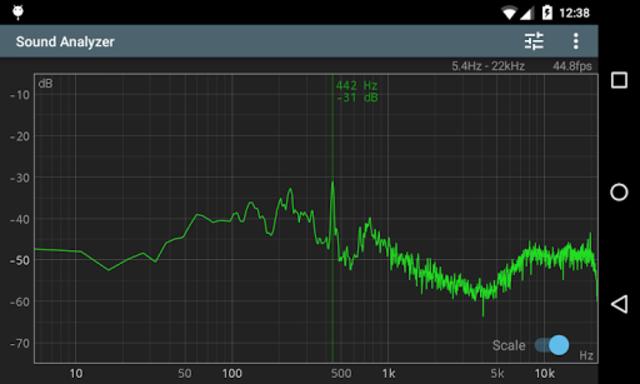 Sound Analyzer screenshot 2