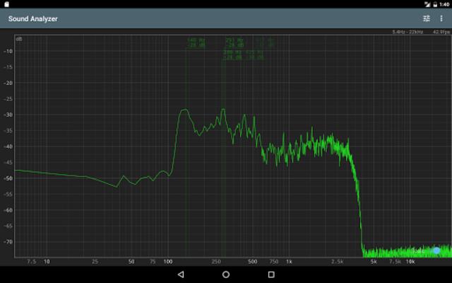 Sound Analyzer screenshot 8