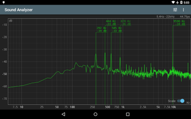 Sound Analyzer screenshot 9