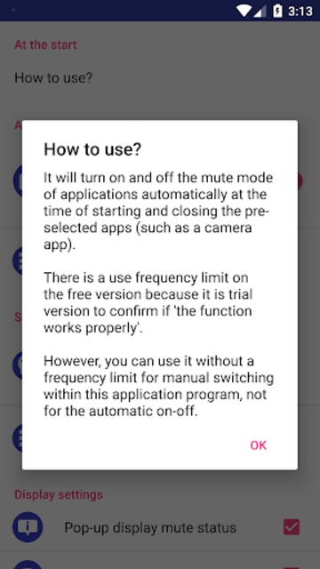 Silent Mode/All Mute Mode (Camera Mute) screenshot 5