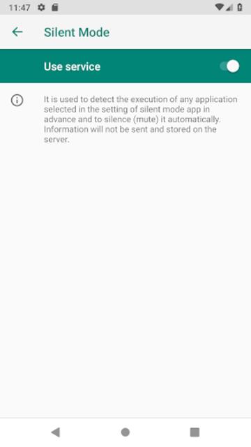 Camera Mute (Silent Mode/All Mute Mode) screenshot 3
