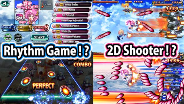 SOUND SHOOTING!! - Rhythm Action & 2D Shooter screenshot 2
