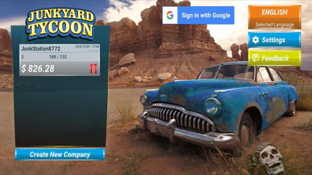 Junkyard Tycoon - Car Business Simulation Game screenshot 1