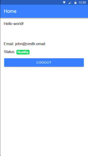 JWT PWA Boilerplate screenshot 3