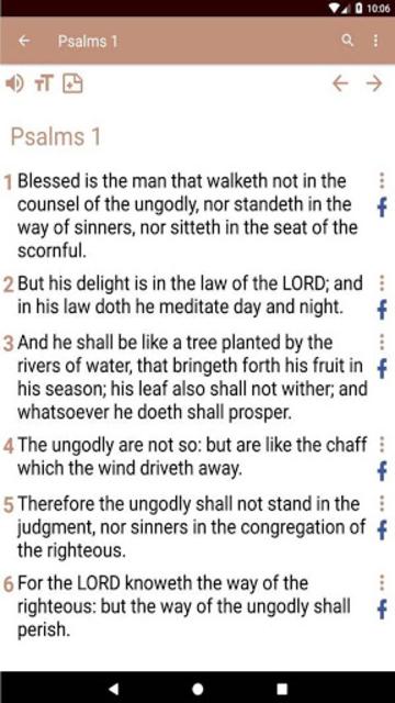 KJV Bible screenshot 30