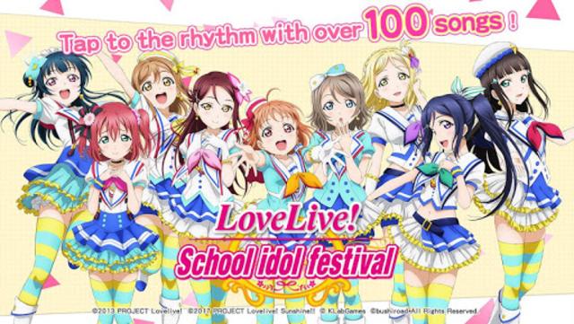 Love Live! School idol festival- Music Rhythm Game screenshot 1