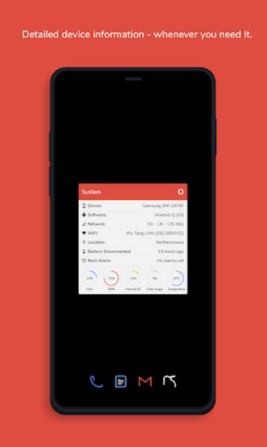 AMOLED Dots for KLWP (Kustom Theme) screenshot 3