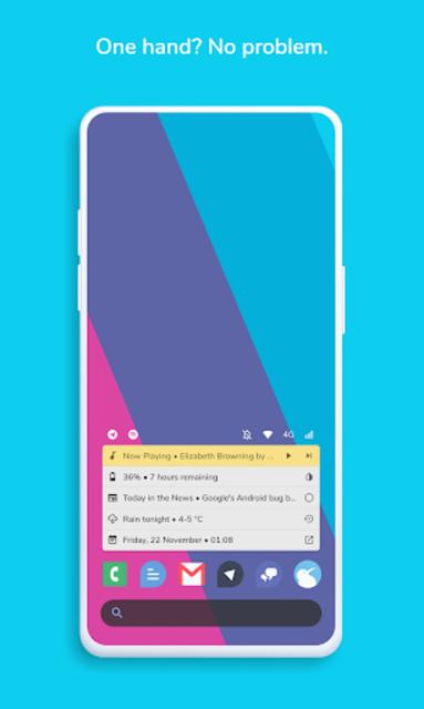 Homestack for KLWP (Kustom Theme) screenshot 1