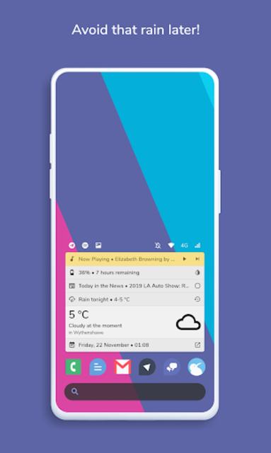 Homestack for KLWP (Kustom Theme) screenshot 3