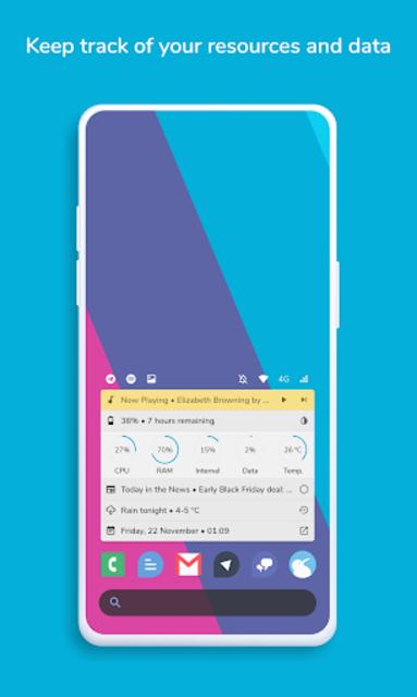Homestack for KLWP (Kustom Theme) screenshot 5