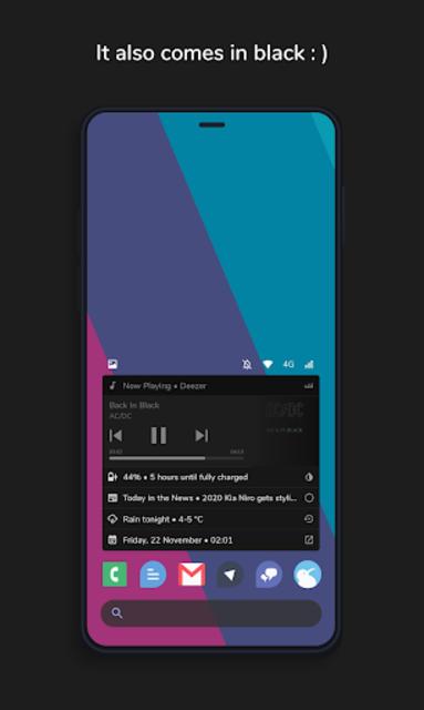Homestack for KLWP (Kustom Theme) screenshot 7