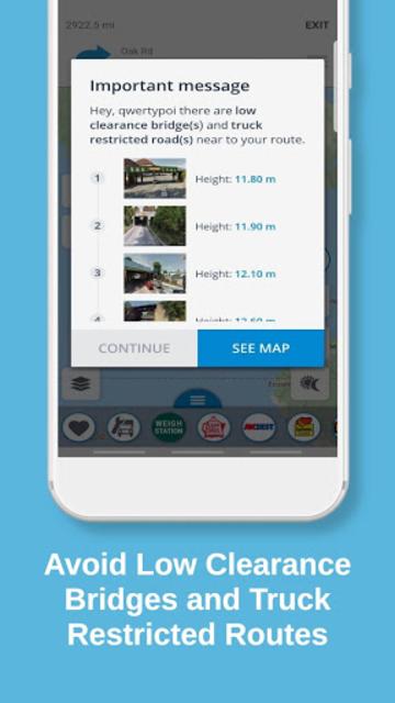 Truck Navigation, GPS - Road Hunter, Truck Stops screenshot 4