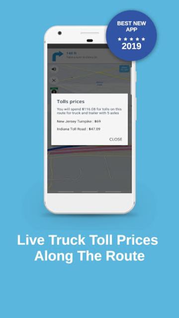 Truck Navigation, GPS - Road Hunter, Truck Stops screenshot 5
