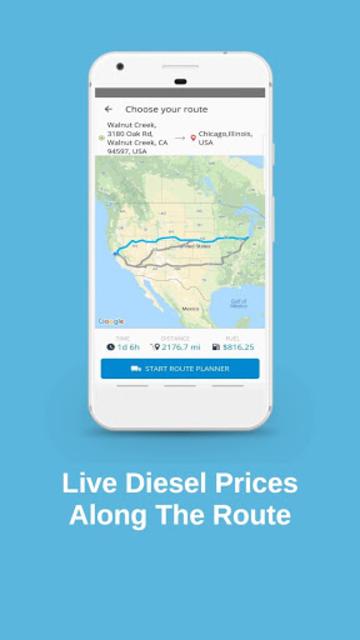 Truck Navigation, GPS - Road Hunter, Truck Stops screenshot 6