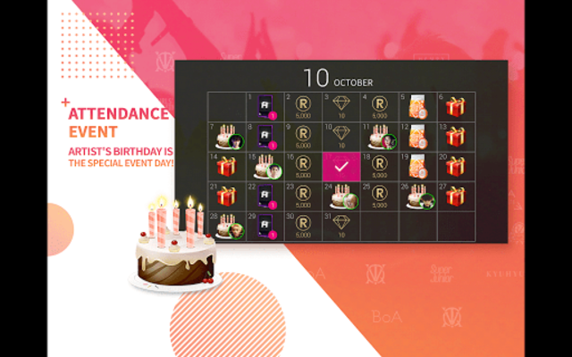 SuperStar SMTOWN screenshot 22