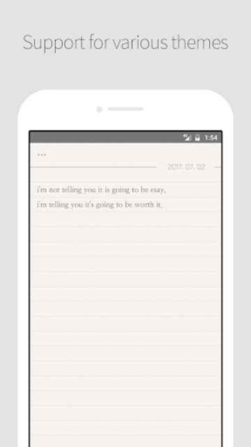 DAILY NOTE - Day Note, Diary screenshot 5