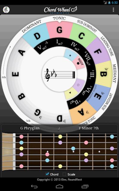 Chord Wheel : Circle of 5ths screenshot 15