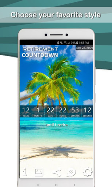 Retirement Coundown screenshot 1