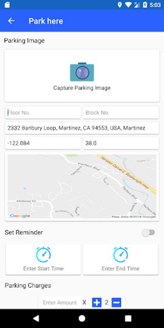 Car Parking Locator screenshot 6