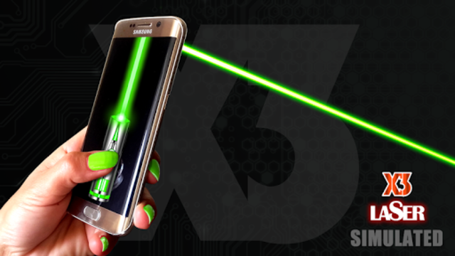 Laser Pointer App - SIMULATED screenshot 1