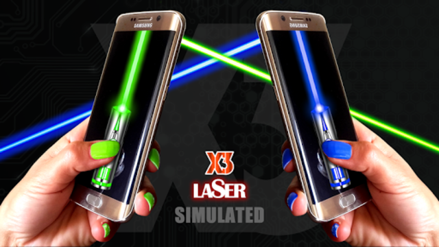 Laser Pointer App - SIMULATED screenshot 6
