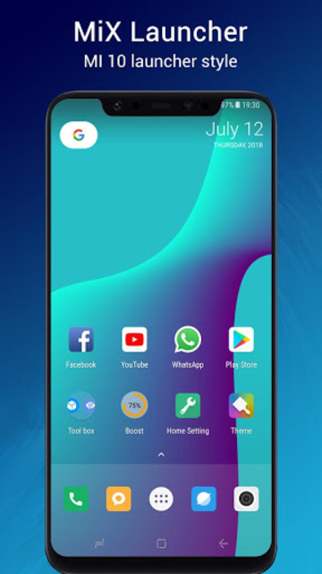 MiX Launcher 🔥 for Mi Launcher + screenshot 1