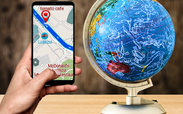 GPS Navigation & Direction - Find Route, Map Guide screenshot 1