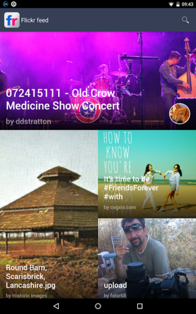 Photos from public Flickr feed screenshot 6