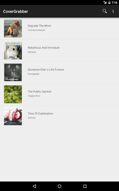 Album Art Downloader (Ad-free) screenshot 4