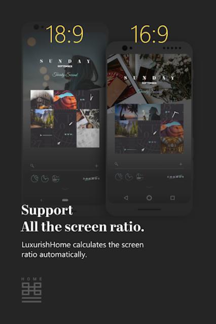 LuxurishHome for KLWP screenshot 4