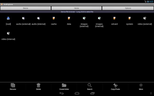AndExplorerPro (file manager) screenshot 9