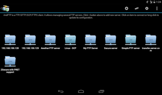 AndFTP (your FTP client) screenshot 13