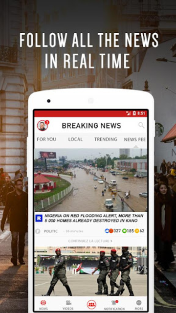 Nigeria Breaking News and Latest Local News App screenshot 1