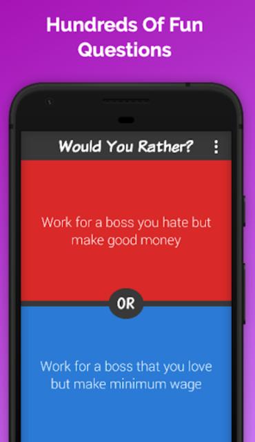 Would You Rather? screenshot 1