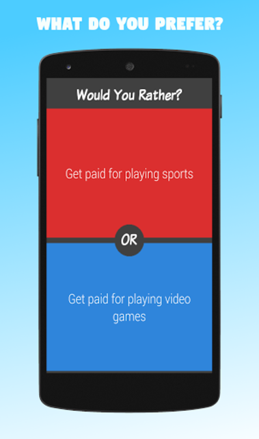 Would You Rather? screenshot 3